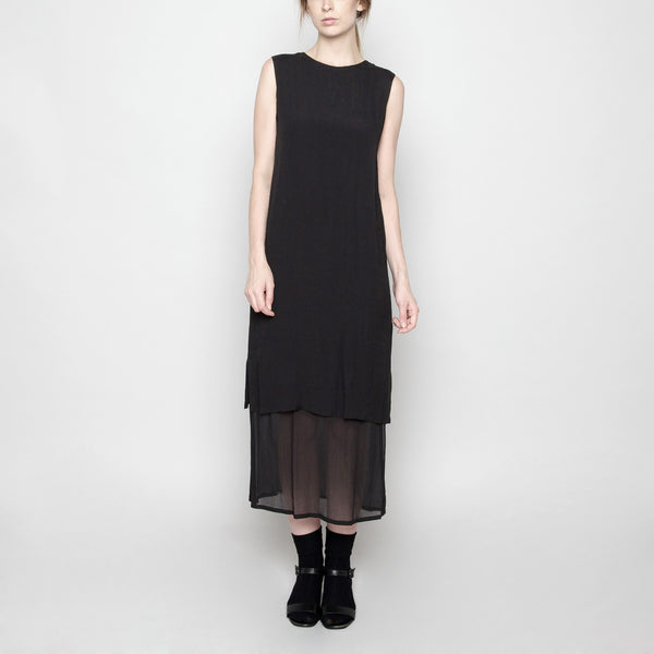 Sleeveless Layered Dress FW16