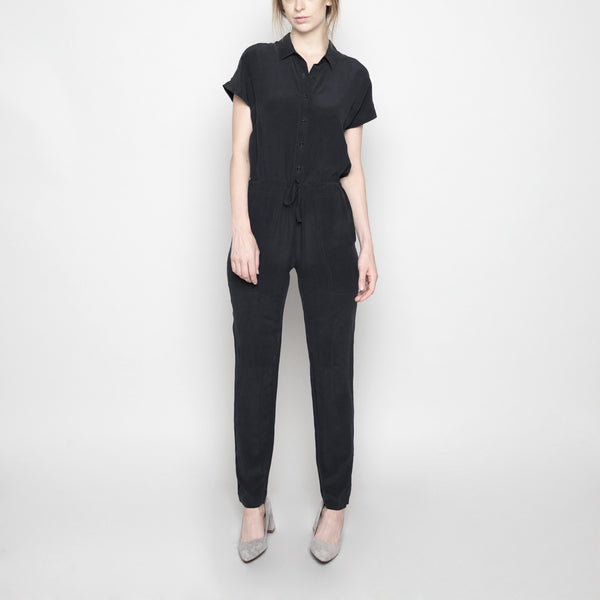 Silk Jumpsuit FW16 - Black