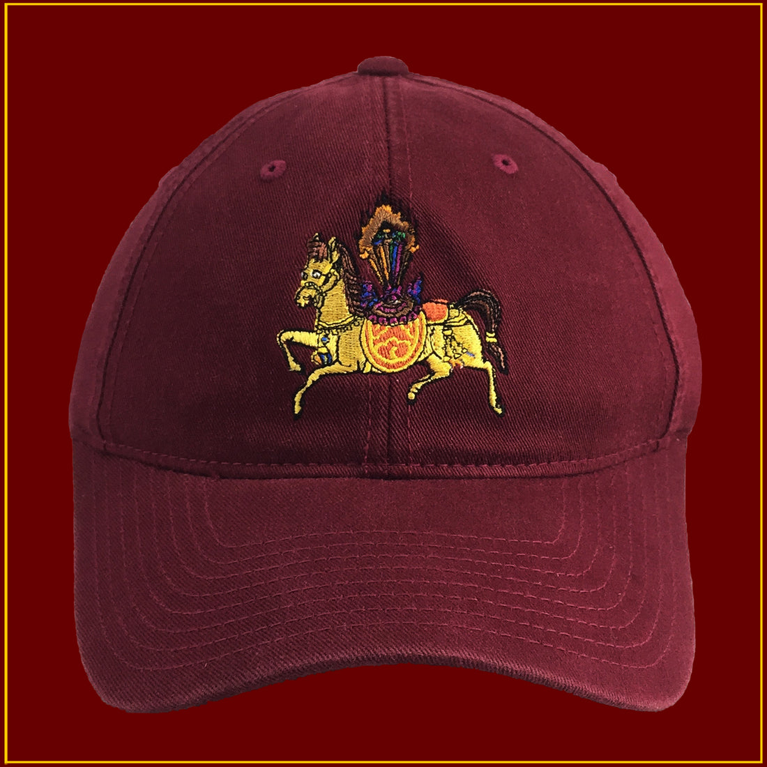 Wind Horse - Maroon (S,L)