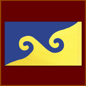 "Karmapa Dream Flag - 48""X 29"""