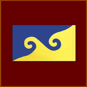 "Karmapa Dream Flag - 24""X 14"""