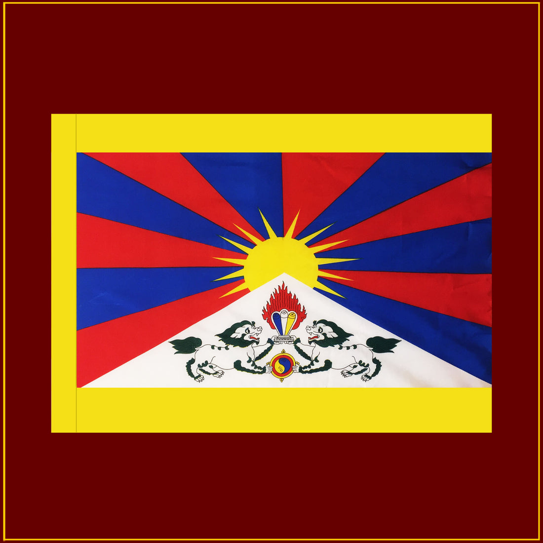 Tibetan National Flag - 40