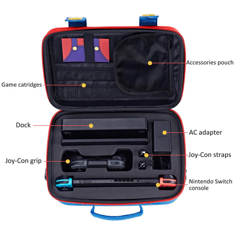 Travel Carrying Case (Mario) for Nintendo Switch