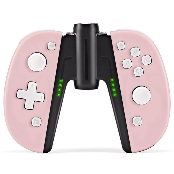 Wireless Joypad Controller for Nintendo Switch Joycon(Sakura Pink)-Funlab