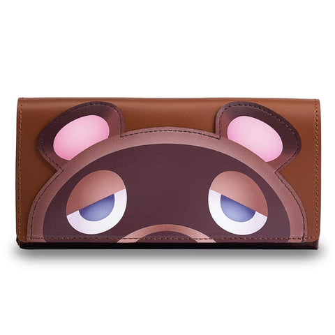 Leather Carrying Case (Tom Nook) For Nintendo Switch