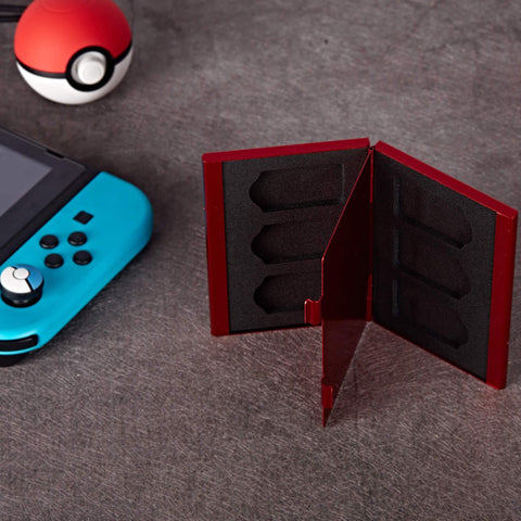 Alumi Game Card Case (Pokédex) for Nintendo Switch