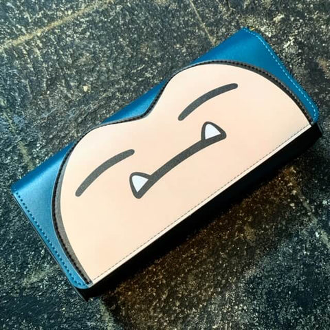 Leather Carrying Case (Snorlax) for Nintendo Switch