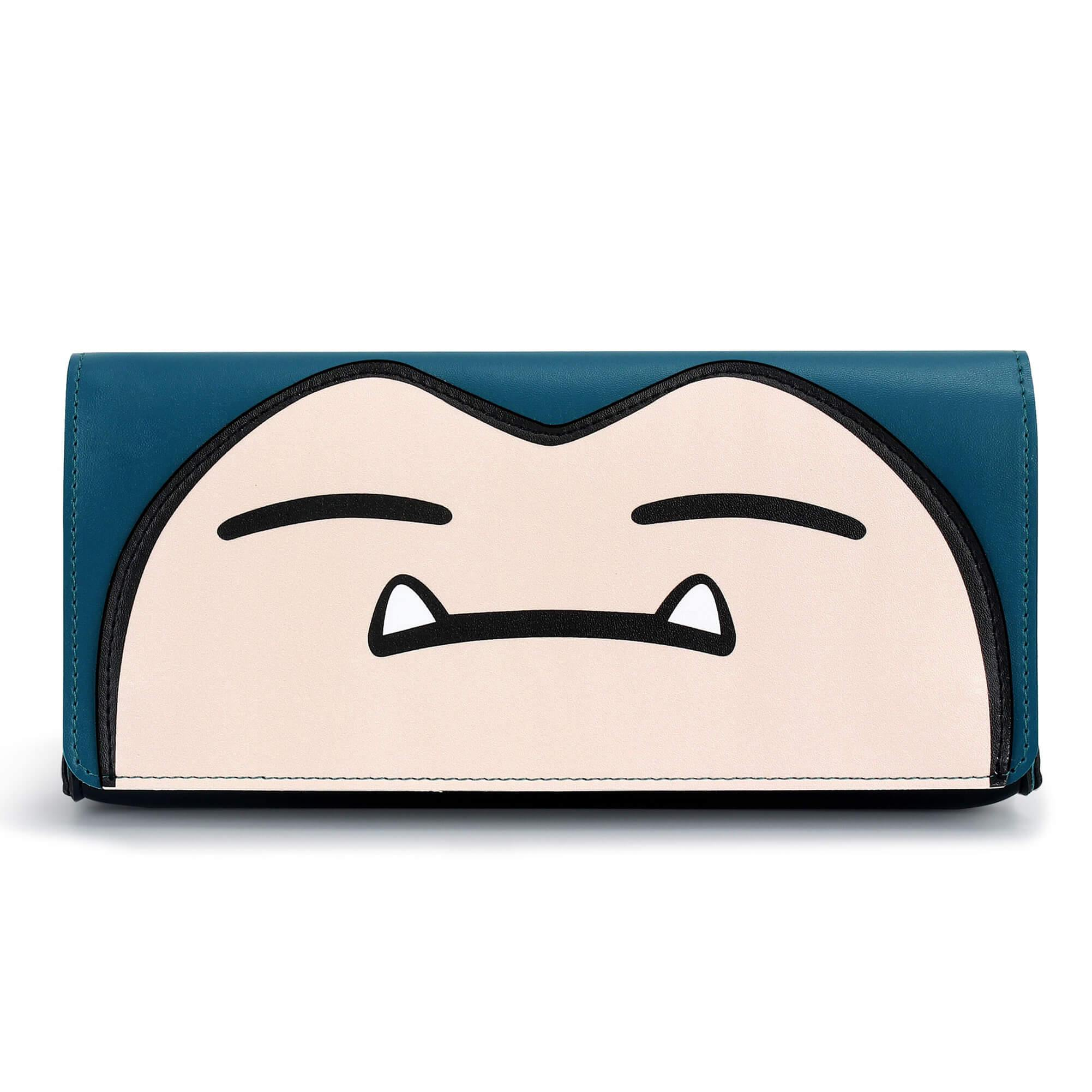 Leather Carrying Case for Nintendo Switch(Snorlax)