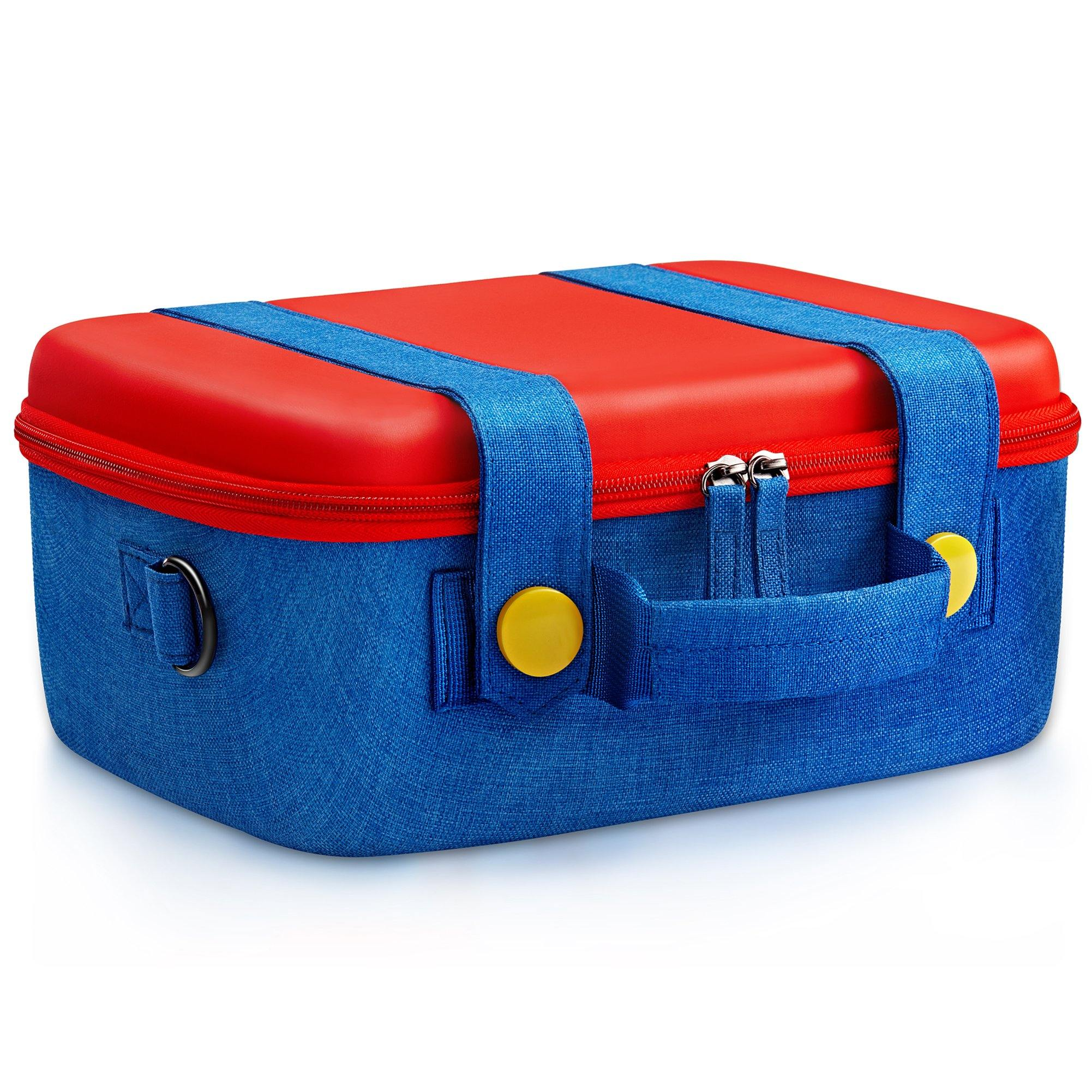 Nintendo Switch Carrying Case For Mario Console Accessories Funlab