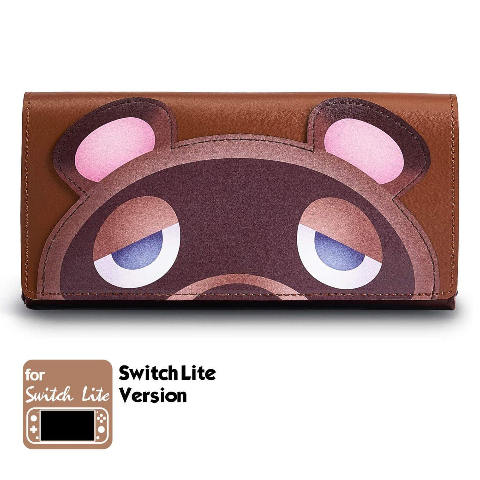 Leather Carrying Case (Tomnook) for Nintendo Switch Lite