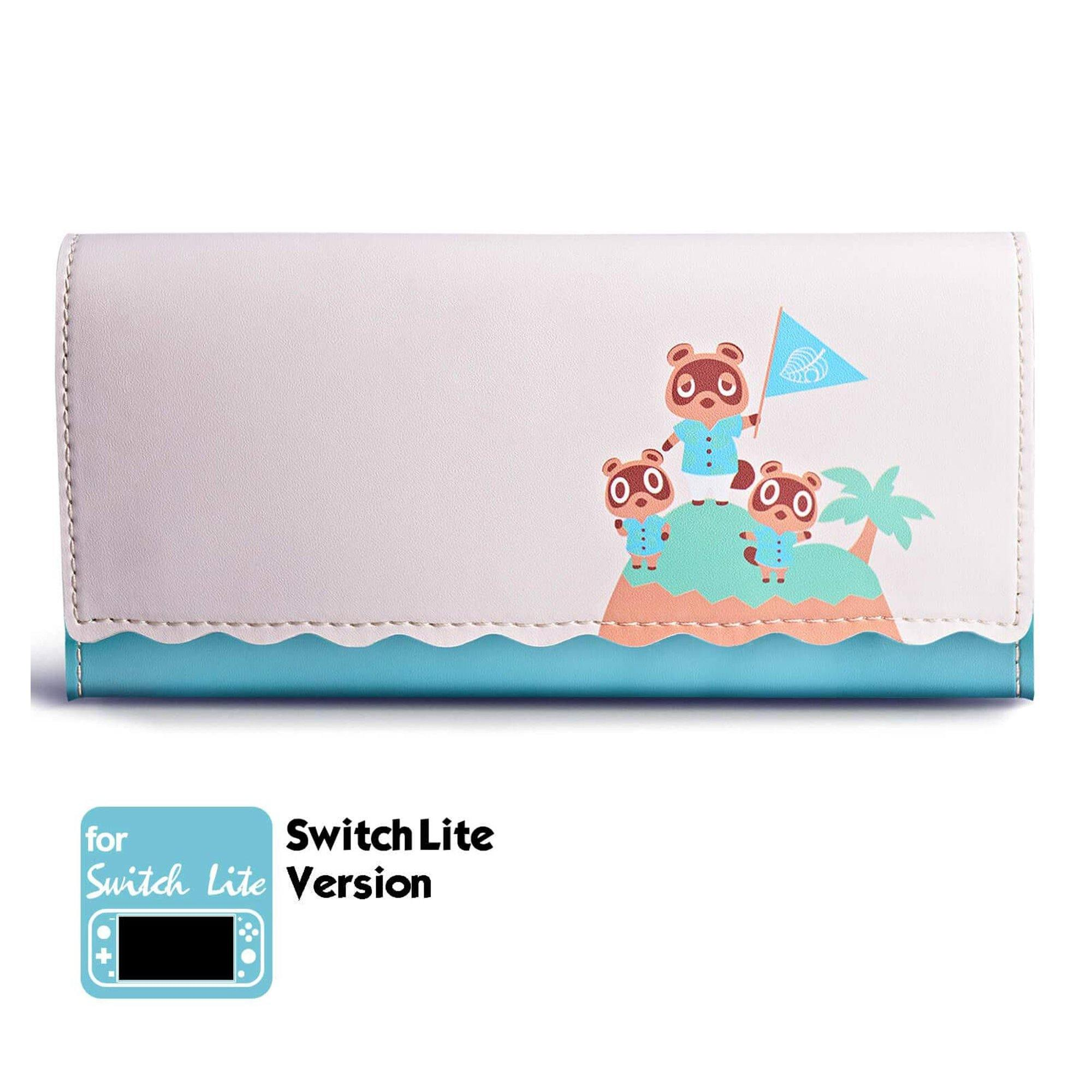 Carrying Case( Tom Nook Island) For Nintendo Switch Lite - Funlab
