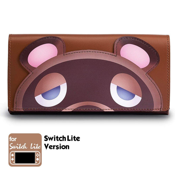 Leather Carrying Case (Tomnook) for Nintendo Switch Lite - Funlab