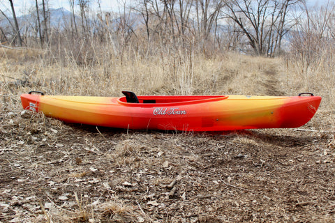 Old Town: Heron 9 Kayak Orange (Used)