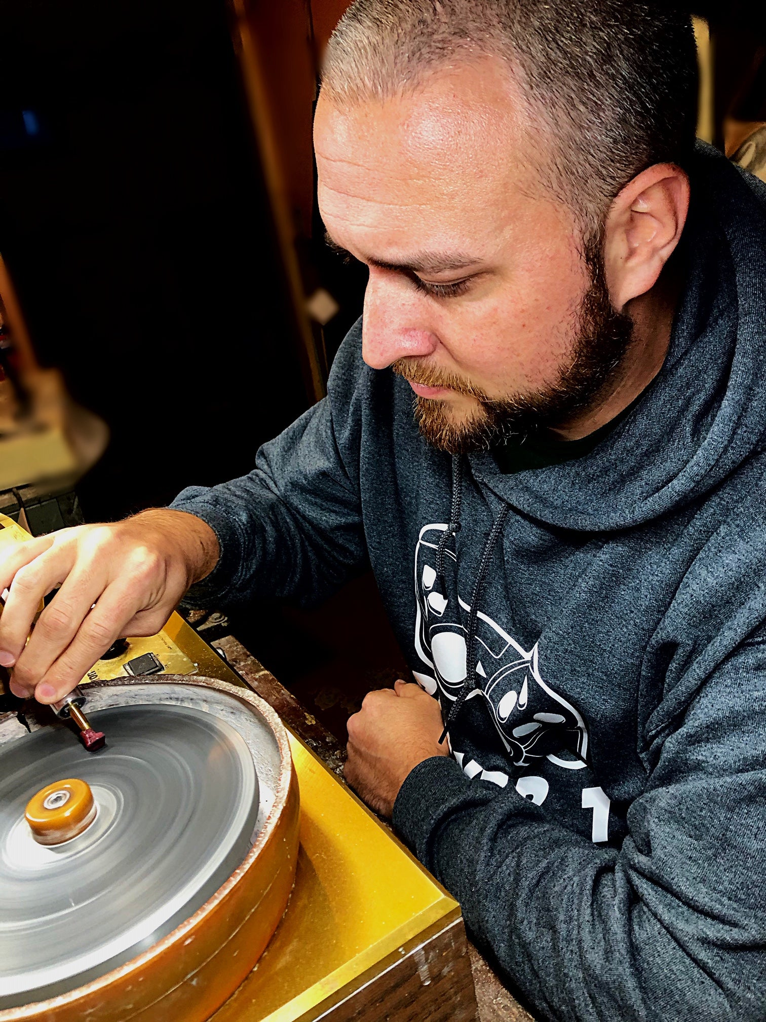 Aaron Hayes, luxury cigar pick maker and founder of Maven Gems