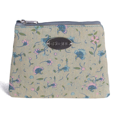 3 Zip Purse - Tiny Floral
