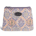 3 Zip Purse - Folk Floral