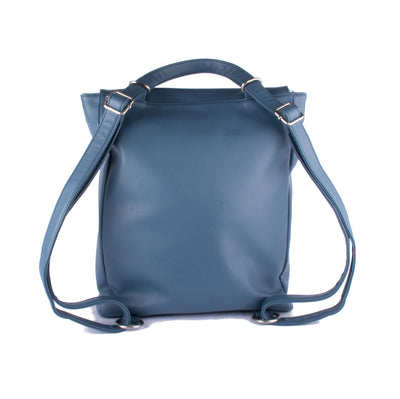 Backpack Satchel - Gum Blossom – Vegan Leather Bag