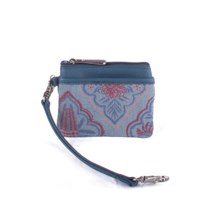 Card Coin Pouch - Gum Blossom – Vegan Leather Purse