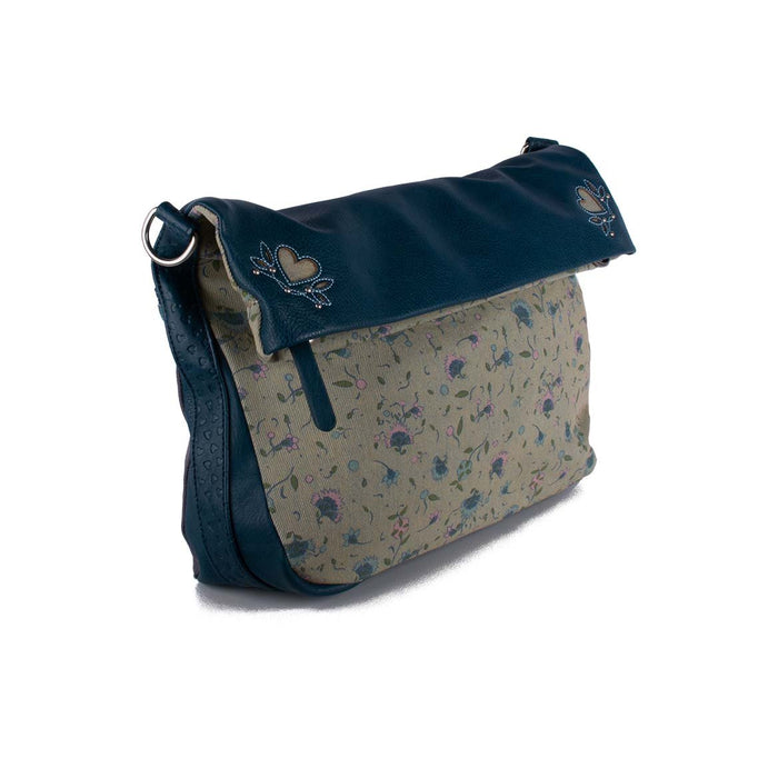 Foldover Bag - Tiny Floral