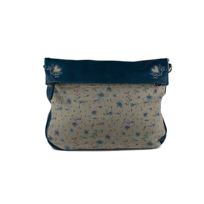 Original ethical vegan leather screen-printed Bag Handbag Purse Accessories designed in Australia