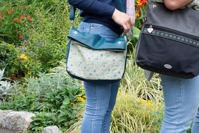 Foldover Bag - Folk Floral