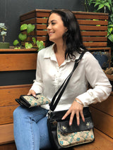 Zip Up Wallet - Be Free – Vegan Leather Purse
