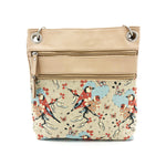 Melbourne Bag - Blossom Time – Vegan Leather Cross-Body Handbag