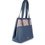 Mimi Tote - Love Birds – Vegan Leather Tote Shoulder Bag