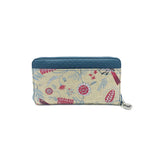 Zip Up Wallet - Honeyeater – Vegan Leather Purse