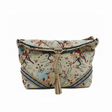 Café Bag - Blossom Time – Vegan Leather Cross-Body Handbag