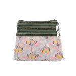 3 Zip Purse - Sunrise Waratah