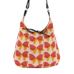 Tie Bag - Butterflies - Retro Vegan Cross Body Handbag