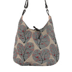 Tie Bag - Wishing Tree - Retro Vegan Cross Body Handbag