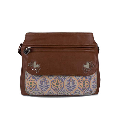 Travel Bag, Carry on bag, Original ethical vegan leather screen-printed Bag Handbag Purse Accessories designed in Australia