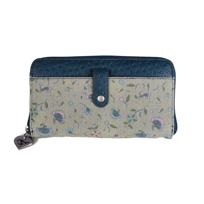 Zip Up Wallet - Tiny Floral