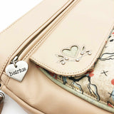 Traveller Bag - Blossom Time – Vegan Leather Cross-Body Handbag