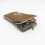 Glasses Case - Butterfly Mandala – Vegan Leather Eyeglass Case