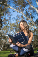 Tablet / iPad Compendium - Sunrise Waratah – Vegan Leather iPad Cover