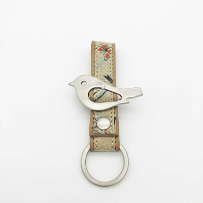Key Ring - Blossom Time – Vegan Leather