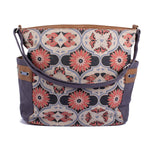 Everyday Tote - Butterfly Mandala – Vegan Leather Tote Bag
