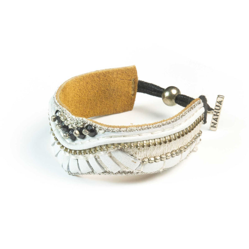 bracelet brodé nahua accessories pacome
