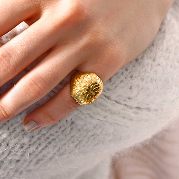 bague Sopro Jewellery Water Lily Petals