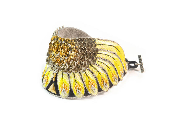 Bracelet NIKITA Yellow