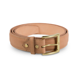 Natural Classic Belt ( Gold Buckle )