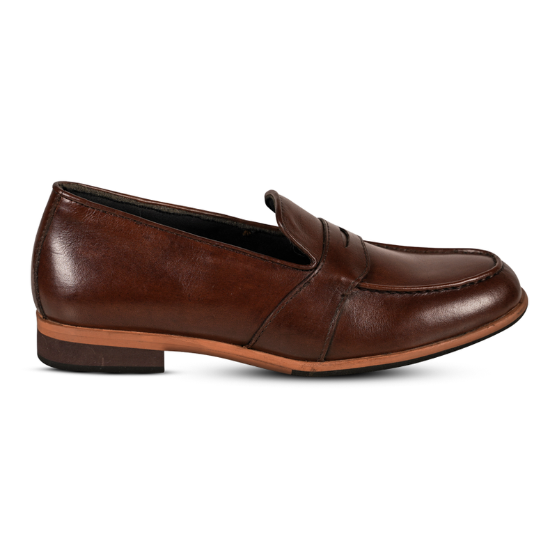 Gilly Penny Loafers Brown Women