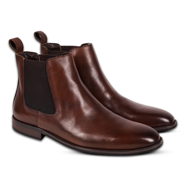 Victorian Chelsea Boots Brown