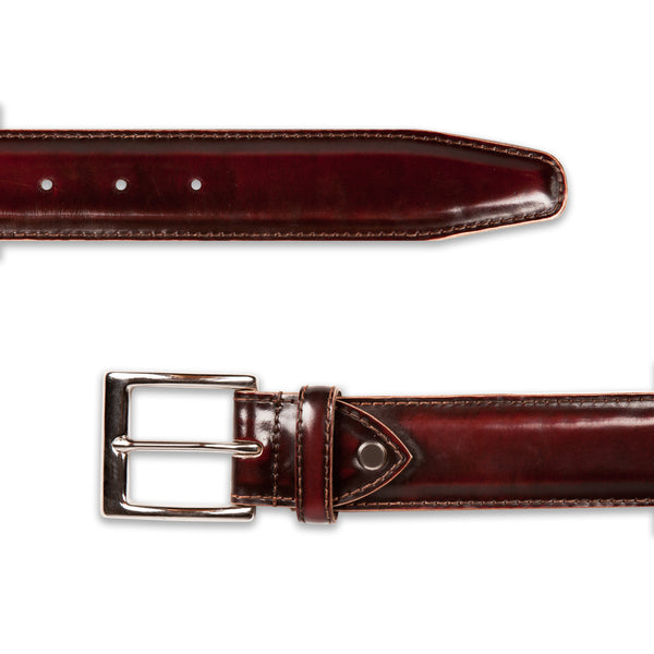 Brush Off Maroon Classic Belt