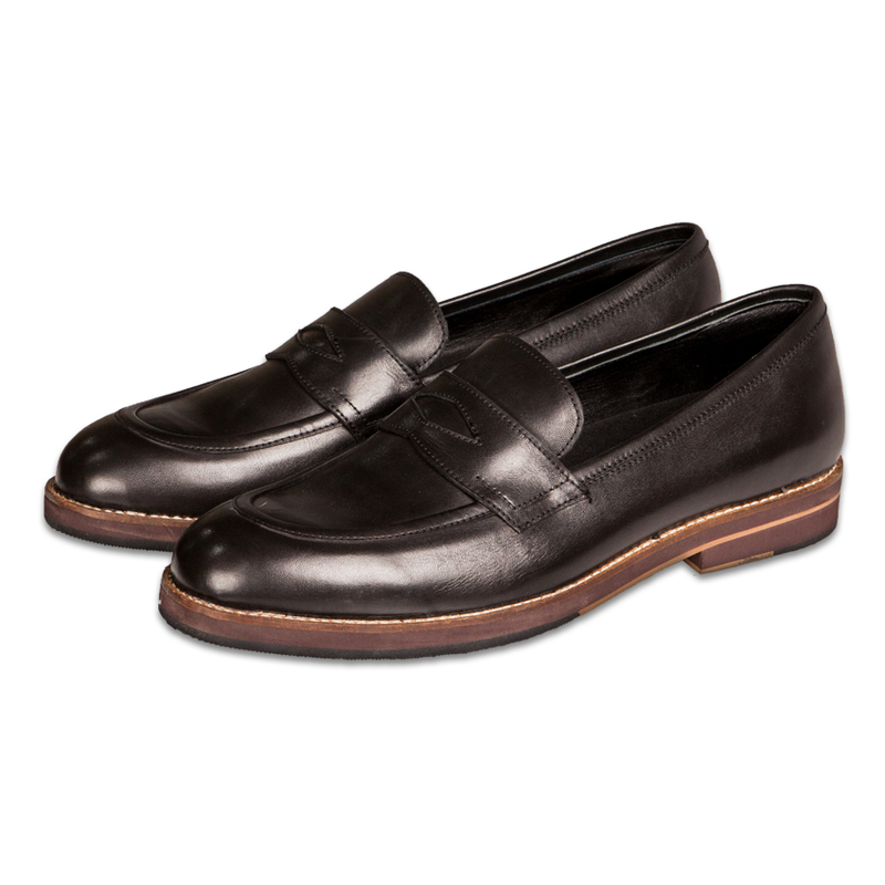 Blake Penny Loafers Black