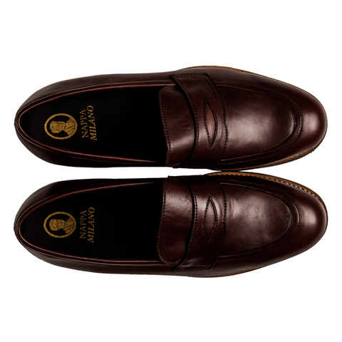 Blake Penny Loafers Brown