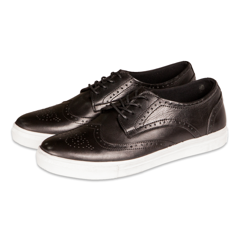 Foster Brogues Black